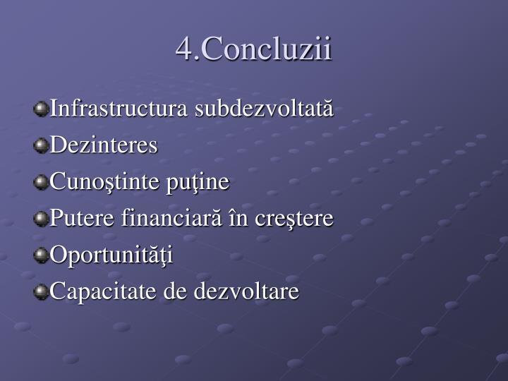 4.Concluzii