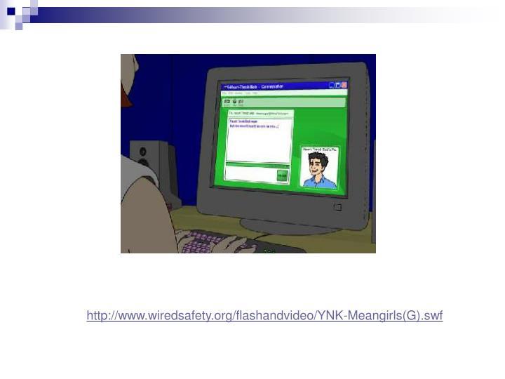 http://www.wiredsafety.org/flashandvideo/YNK-Meangirls(G).swf