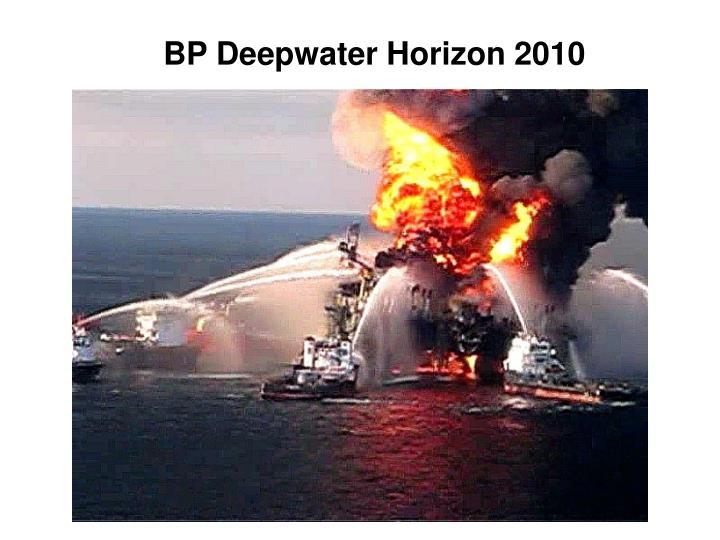 BP Deepwater Horizon 2010
