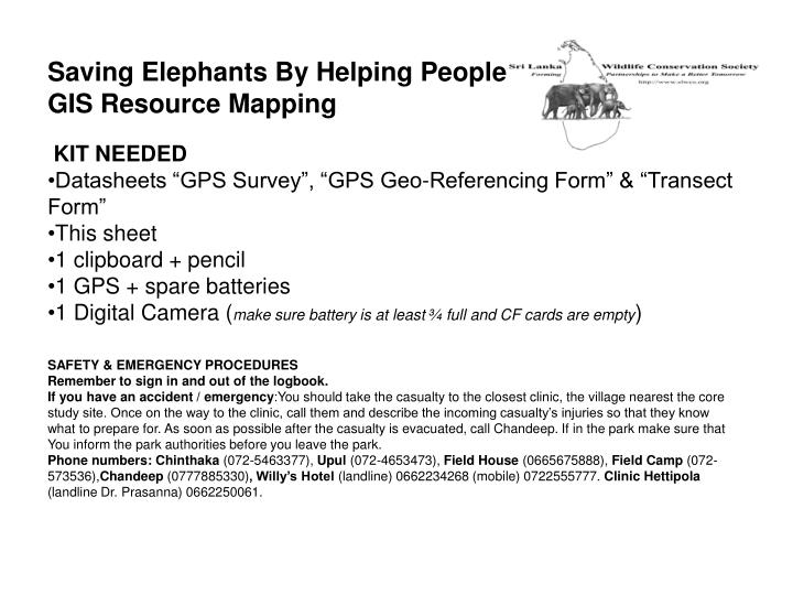 Saving Elephants By Helping People