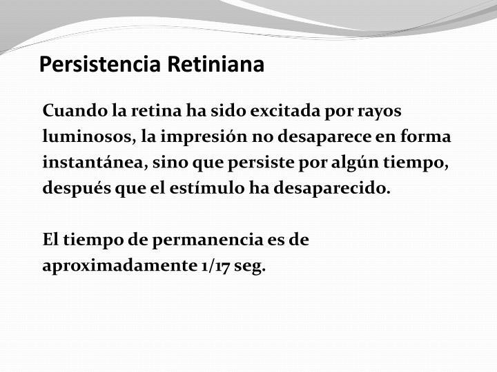 Persistencia Retiniana