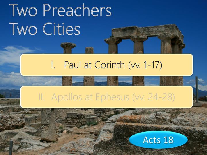 Two Preachers