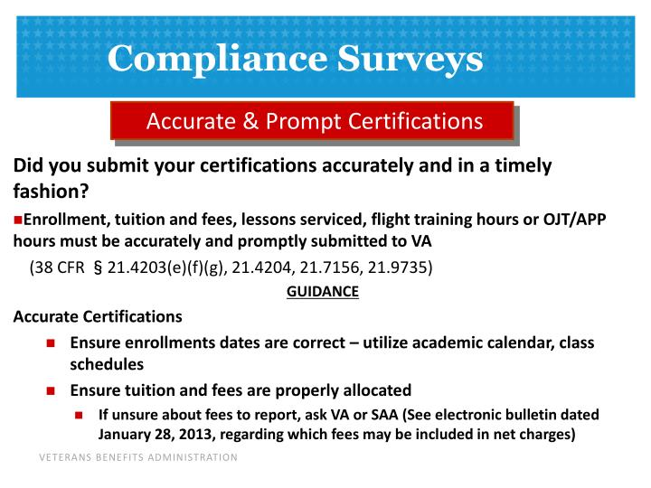 Accurate & Prompt Certifications