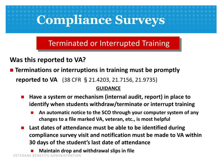 Terminated or Interrupted Training