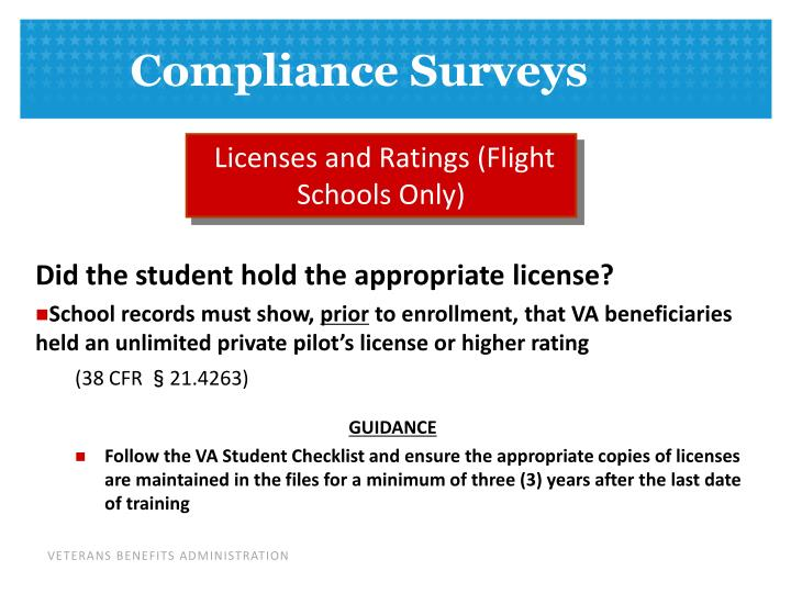 Licenses and Ratings (Flight Schools Only)