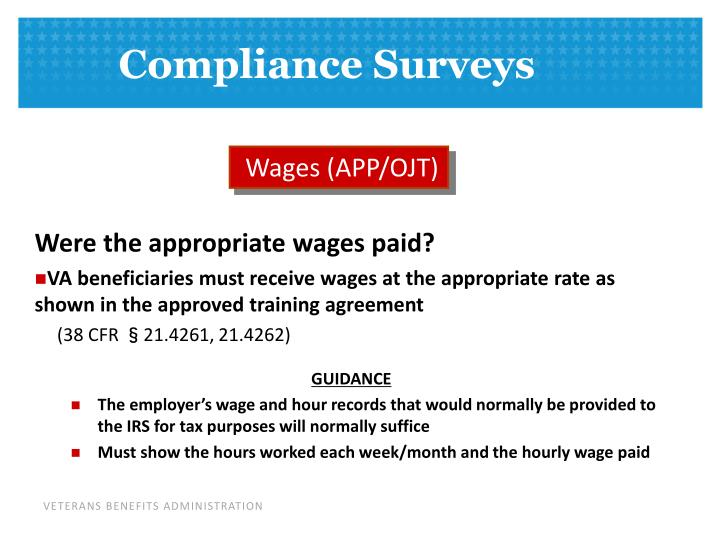 Wages (APP/OJT)
