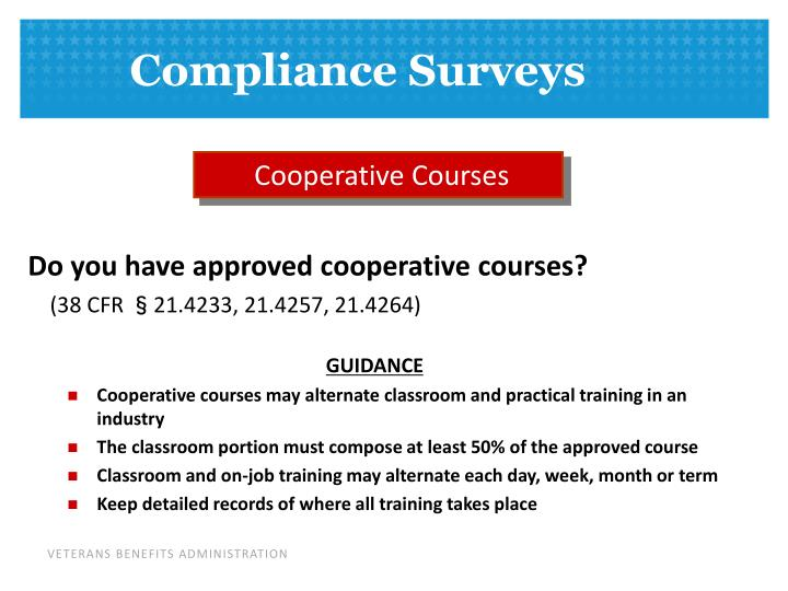 Cooperative Courses