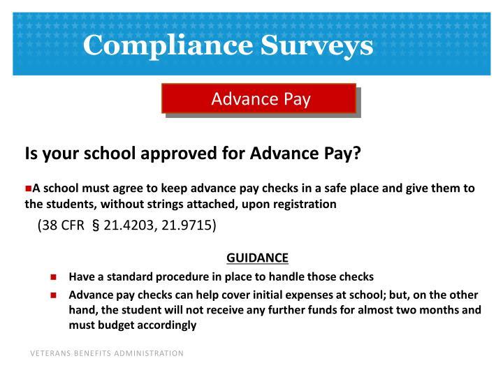 Advance Pay