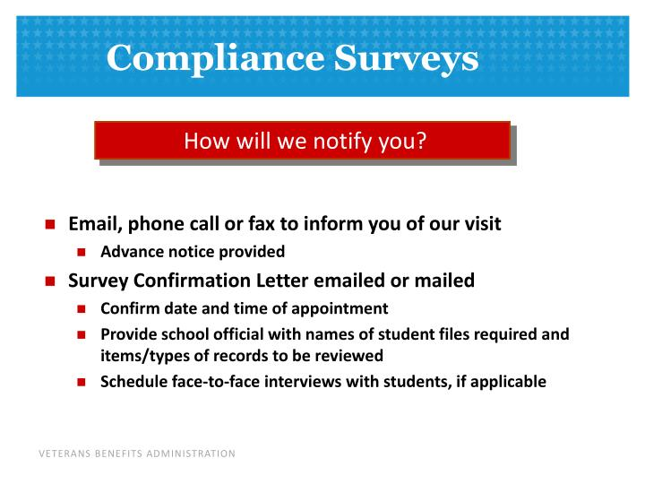 How will we notify you?