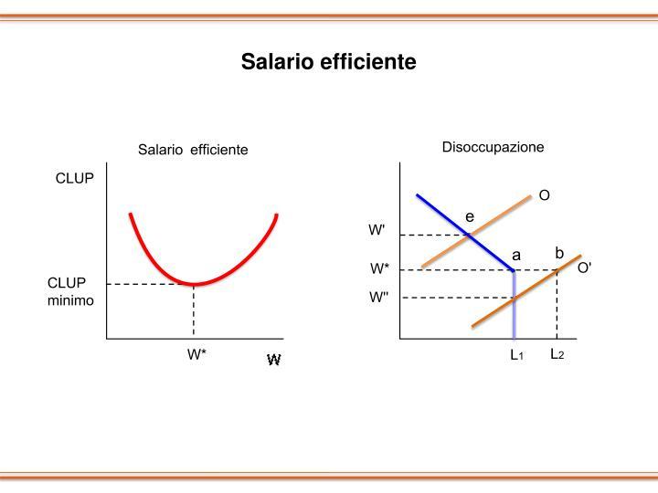 Salario efficiente
