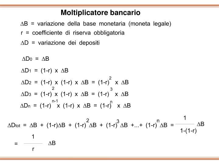 Moltiplicatore bancario
