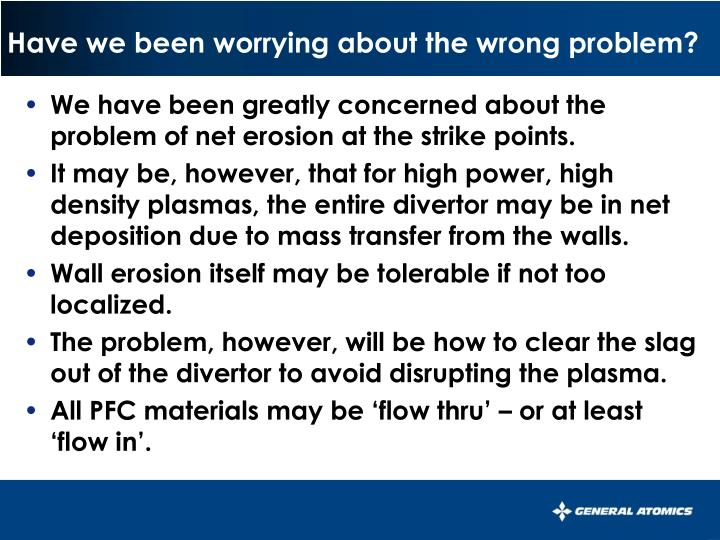 Have we been worrying about the wrong problem?