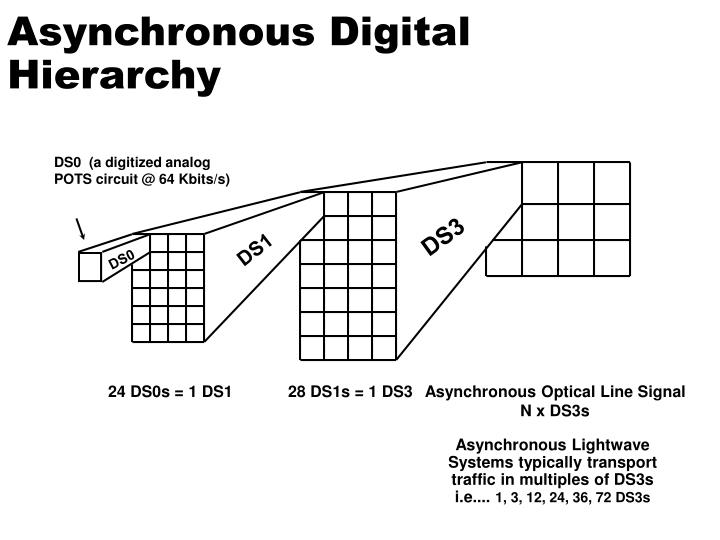 Asynchronous Digital Hierarchy