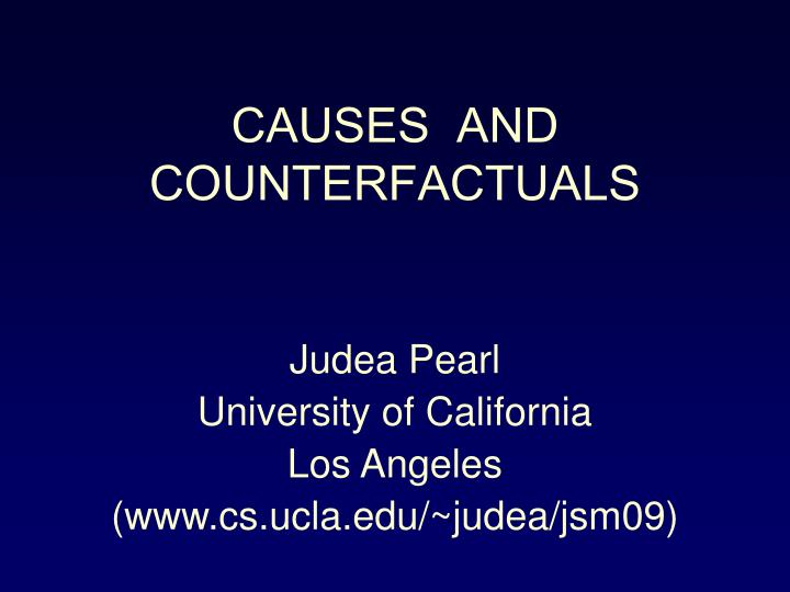 CAUSES  AND