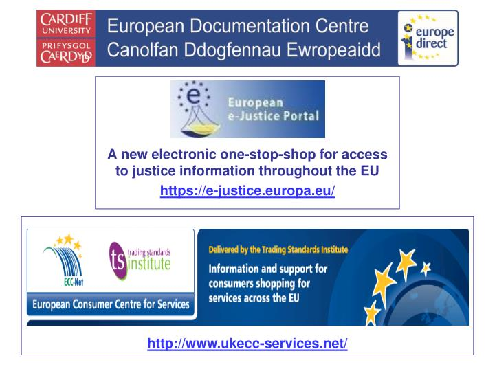 A new electronic one-stop-shop for access to justice information throughout the EU
