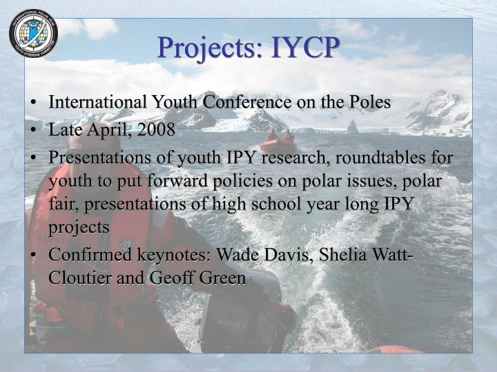 Projects: IYCP