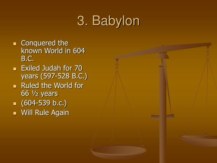 3. Babylon