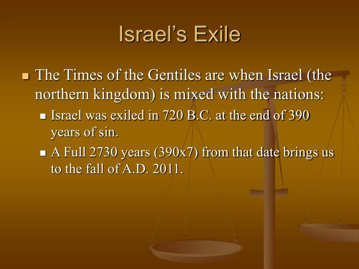 Israel's Exile