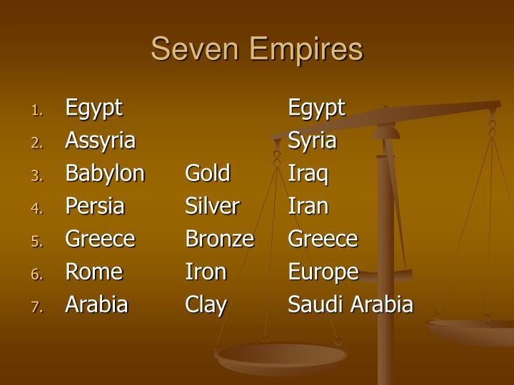 Seven Empires