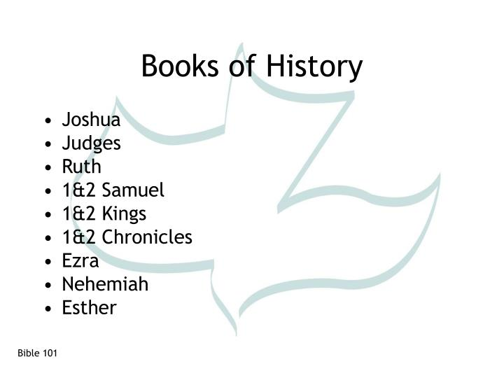 Books of history