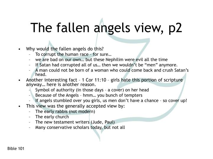 The fallen angels view, p2