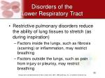 disorders of the lower respiratory tract2