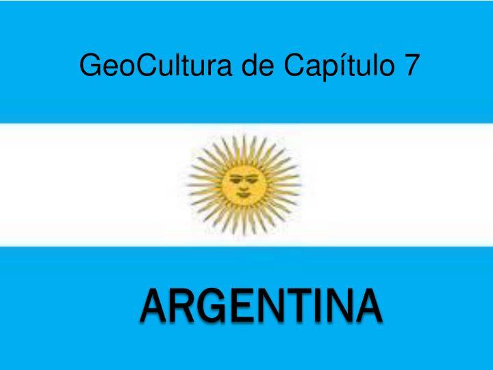 GeoCultura de Capítulo 7