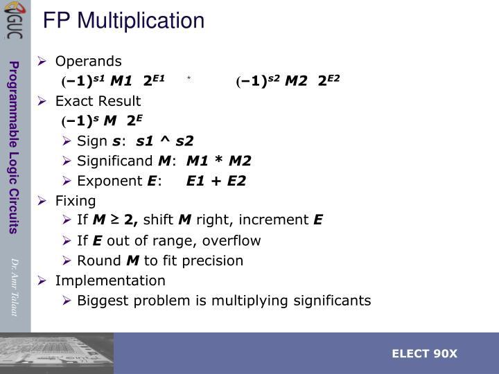 FP Multiplication