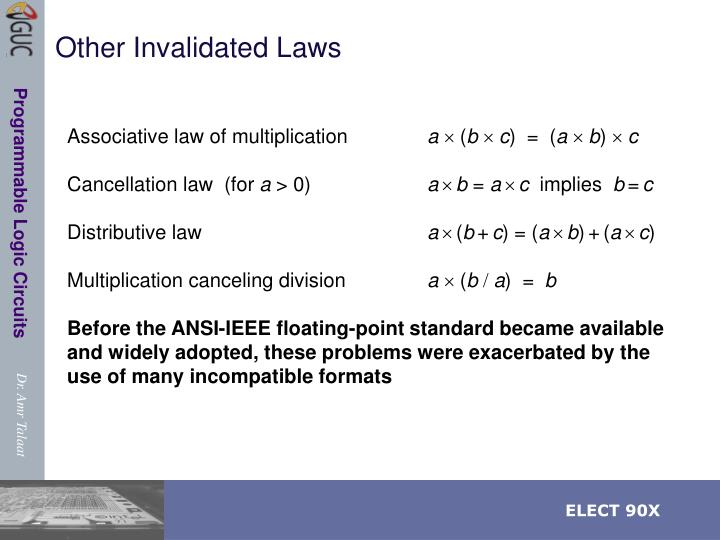 Other Invalidated Laws