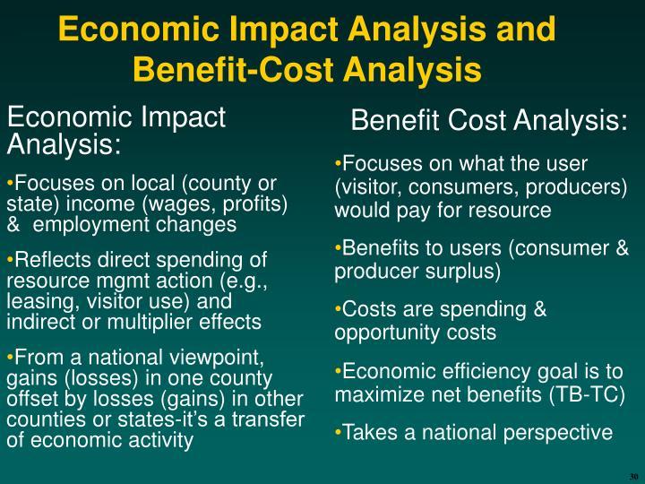 Economic Impact Analysis: