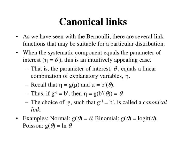Canonical links