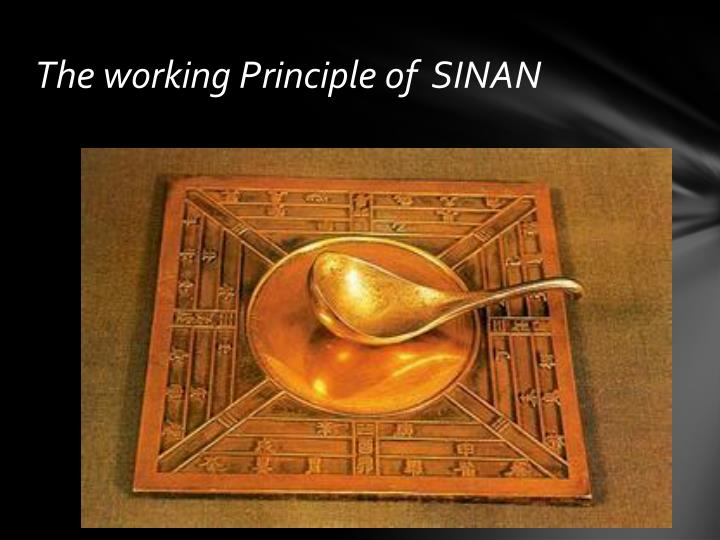 The working Principle of