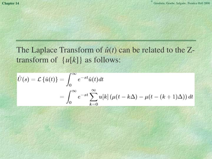 The Laplace Transform of
