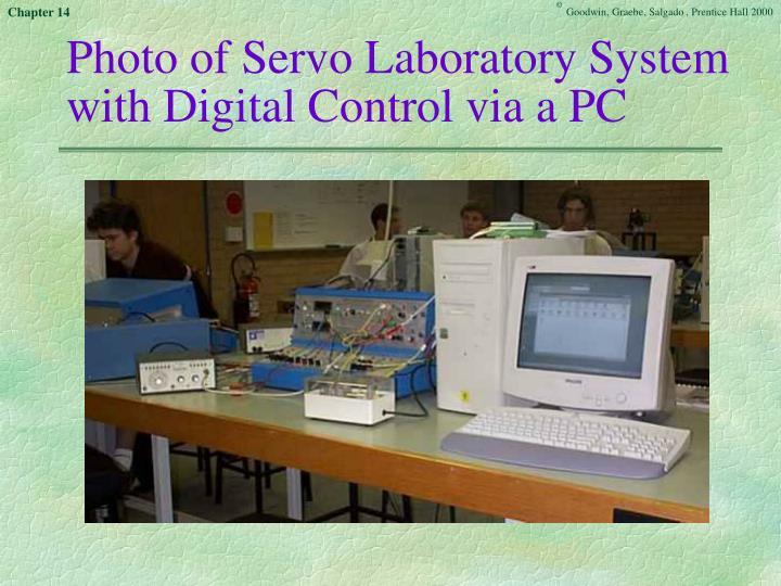 Photo of Servo Laboratory System with Digital Control via a PC