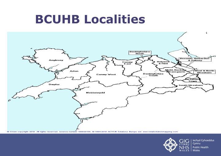 BCUHB Localities