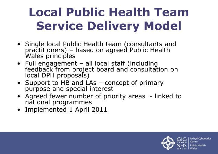 Local Public Health Team