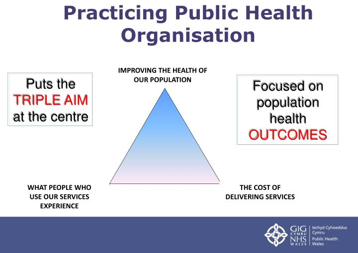 Practicing Public Health Organisation