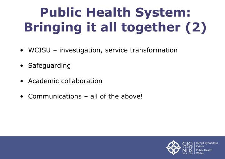 Public Health System: