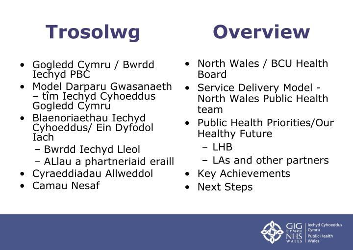 Gogledd Cymru / Bwrdd Iechyd PBC