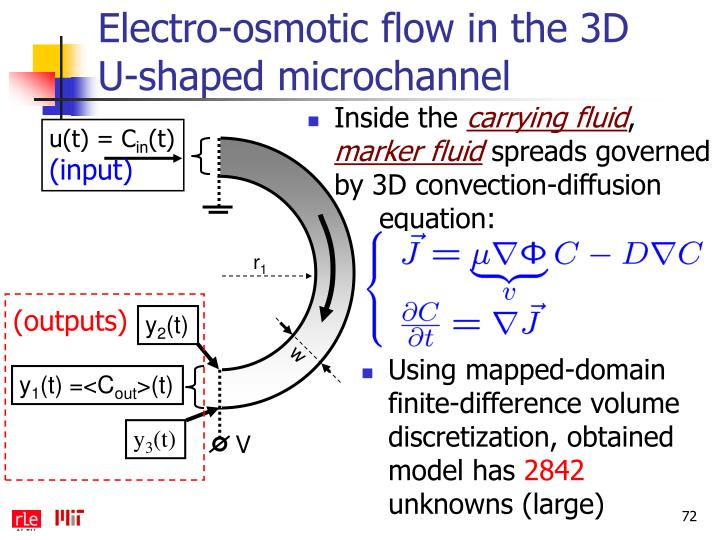Electro-osmotic flow in the 3D