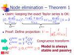 node elimination theorem 1