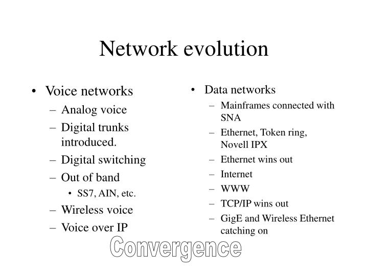 Voice networks