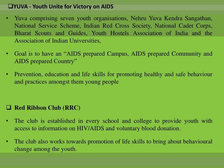 YUVA - Youth Unite for Victory on AIDS