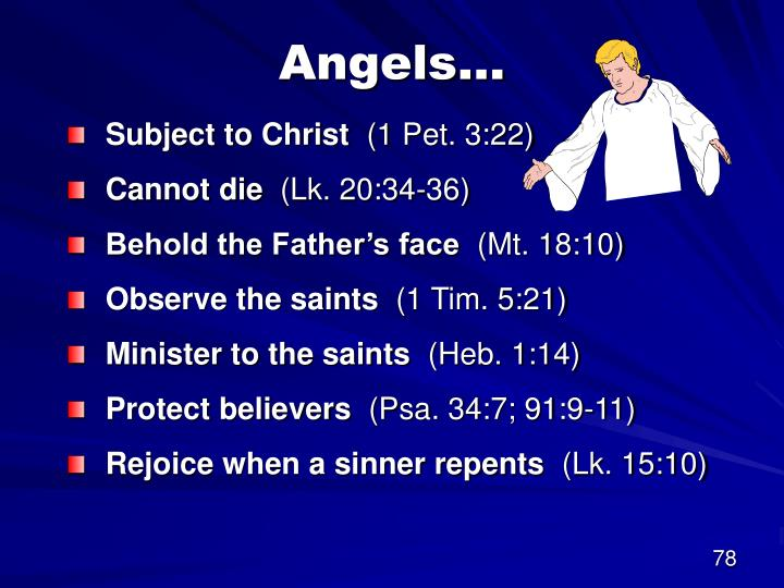 Angels…