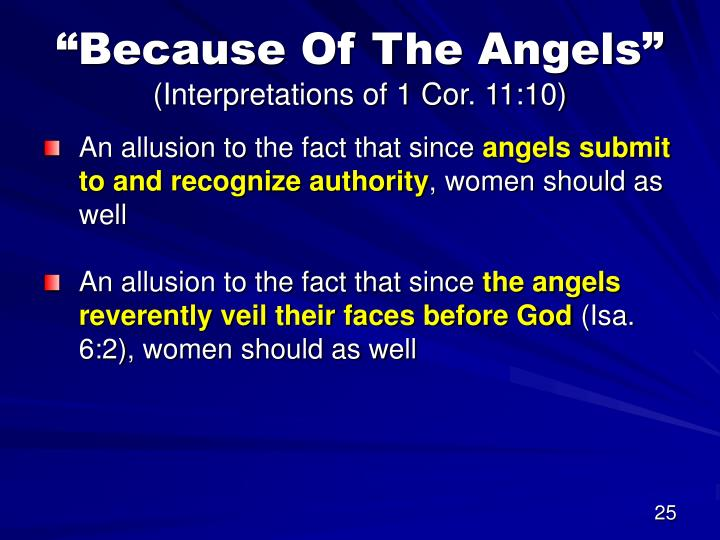 """""""Because Of The Angels"""""""