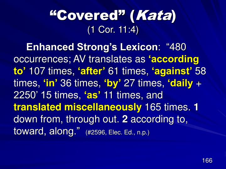 """""""Covered"""" ("""