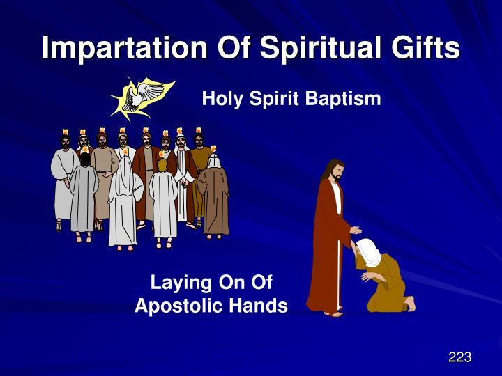 Impartation Of Spiritual Gifts