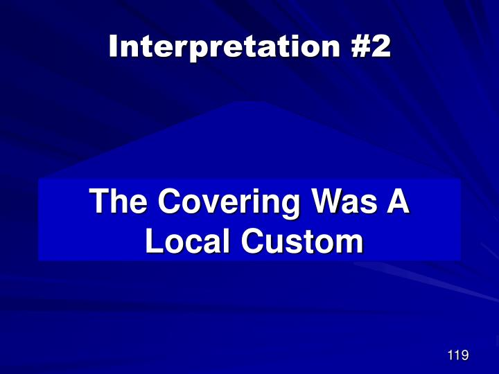Interpretation #2