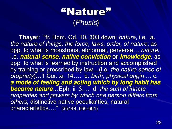 """Nature"""