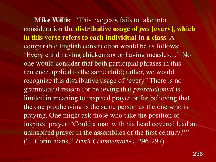 Mike Willis